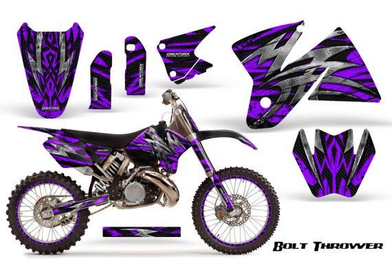 KTM C2 CreatorX Graphics Kit Bolt Thrower Purple NP Rims 570x376 - KTM C2 SX 1998-2000 125-520 EXC Graphics
