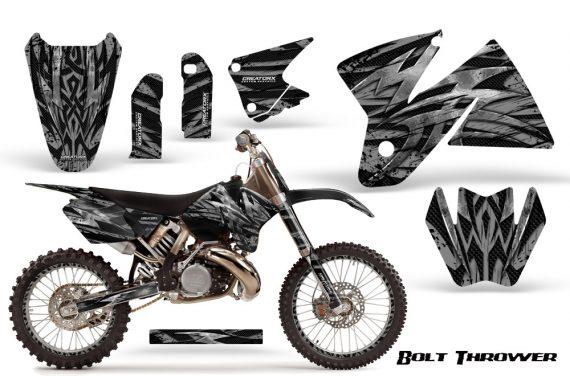 KTM C2 CreatorX Graphics Kit Bolt Thrower Silver NP Rims 570x376 - KTM C2 SX 1998-2000 125-520 EXC Graphics