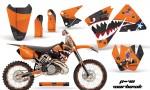 KTM C3 AMR Graphics Kit WH O NPs 150x90 - KTM C3 MXC EXC 200-520 2001-2002 Graphics