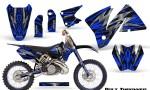 KTM C3 CreatorX Graphics Kit Bolt Thrower Blue NP Rims 150x90 - KTM C3 MXC EXC 200-520 2001-2002 Graphics