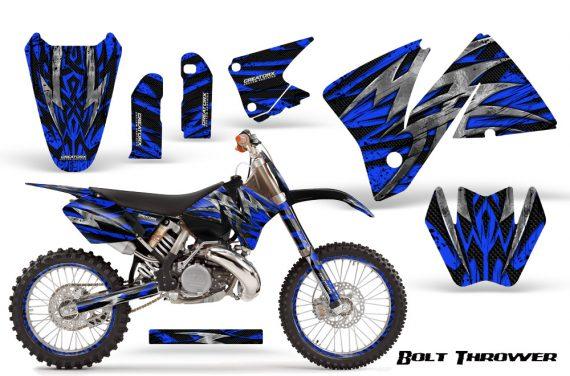 KTM C3 CreatorX Graphics Kit Bolt Thrower Blue NP Rims 570x376 - KTM C3 MXC EXC 200-520 2001-2002 Graphics