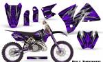 KTM C3 CreatorX Graphics Kit Bolt Thrower Purple NP Rims 150x90 - KTM C3 MXC EXC 200-520 2001-2002 Graphics
