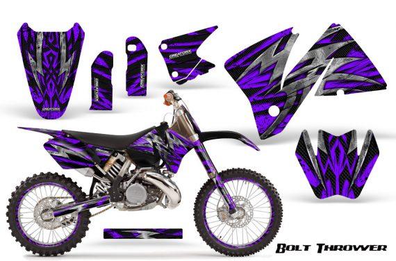 KTM C3 CreatorX Graphics Kit Bolt Thrower Purple NP Rims 570x376 - KTM C3 MXC EXC 200-520 2001-2002 Graphics