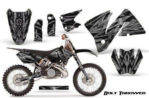 KTM C3 CreatorX Graphics Kit Bolt Thrower Silver NP Rims 570x376 - KTM C3 MXC EXC 200-520 2001-2002 Graphics