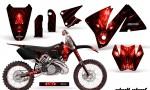 KTM C3 CreatorX Graphics Kit Skull Chief Red Rims 150x90 - KTM C3 MXC EXC 200-520 2001-2002 Graphics