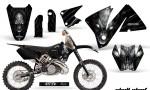 KTM C3 CreatorX Graphics Kit Skull Chief Silver Rims 150x90 - KTM C3 MXC EXC 200-520 2001-2002 Graphics
