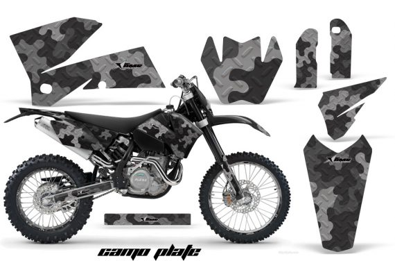 KTM C4 AMR Graphics Kit CamoPlate B NPs 570x376 - KTM C4 SX 2005-2006 EXC 2005-2007 Graphics
