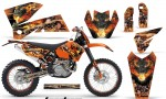 KTM C4 AMR Graphics Kit Firestorm B NPs 150x90 - KTM C4 SX 2005-2006 EXC 2005-2007 Graphics