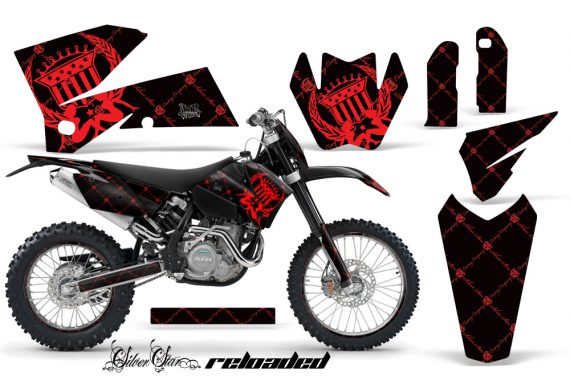 KTM C4 AMR Graphics Kit Reloaded RB NPs 570x376 - KTM C4 SX 2005-2006 EXC 2005-2007 Graphics