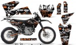 KTM C4 AMR Graphics Kit Silverhaze OB NPs 150x90 - KTM C4 SX 2005-2006 EXC 2005-2007 Graphics