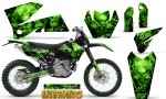 KTM C4 CreatorX Graphics Kit Inferno Green NP Rims 150x90 - KTM C4 SX 2005-2006 EXC 2005-2007 Graphics