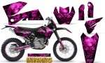 KTM C4 CreatorX Graphics Kit Inferno Pink NP Rims 150x90 - KTM C4 SX 2005-2006 EXC 2005-2007 Graphics