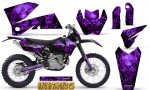 KTM C4 CreatorX Graphics Kit Inferno Purple NP Rims 150x90 - KTM C4 SX 2005-2006 EXC 2005-2007 Graphics