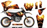 KTM C4 CreatorX Graphics Kit Pure Evil NP Rims BB 150x90 - KTM C4 SX 2005-2006 EXC 2005-2007 Graphics