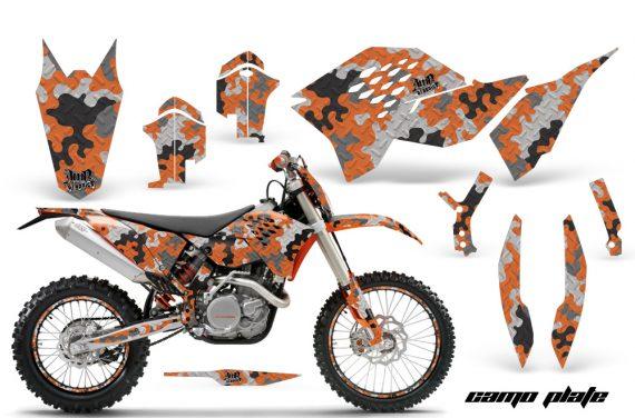 KTM C5 AMR Graphics Kit CP O NPs 570x376 - KTM C5 SX/SX-F 125-525 07-10 / XC 125-525 08-10 / XCW 200-530 2011 / XCFW 250 2011 / EXC 125-530 08-11 Graphics