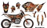 KTM C5 AMR Graphics Kit FS B NPs 150x90 - KTM C5 SX/SX-F 125-525 07-10 / XC 125-525 08-10 / XCW 200-530 2011 / XCFW 250 2011 / EXC 125-530 08-11 Graphics
