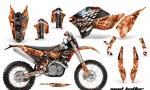 KTM C5 AMR Graphics Kit MH OS NPs 150x90 - KTM C5 SX/SX-F 125-525 07-10 / XC 125-525 08-10 / XCW 200-530 2011 / XCFW 250 2011 / EXC 125-530 08-11 Graphics