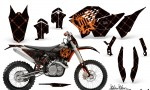 KTM C5 AMR Graphics Kit SSR OB NPs 150x90 - KTM C5 SX/SX-F 125-525 07-10 / XC 125-525 08-10 / XCW 200-530 2011 / XCFW 250 2011 / EXC 125-530 08-11 Graphics