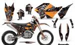 KTM C5 AMR Graphics Kit TOX OB NPs 150x90 - KTM C5 SX/SX-F 125-525 07-10 / XC 125-525 08-10 / XCW 200-530 2011 / XCFW 250 2011 / EXC 125-530 08-11 Graphics