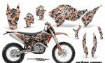 KTM C5 AMR Graphics Kit UC O NPs 150x90 - KTM C5 SX/SX-F 125-525 07-10 / XC 125-525 08-10 / XCW 200-530 2011 / XCFW 250 2011 / EXC 125-530 08-11 Graphics