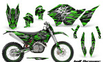 KTM C5 CreatorX Graphics Kit Bolt Thrower Green NP Rims 150x90 - KTM C5 SX/SX-F 125-525 07-10 / XC 125-525 08-10 / XCW 200-530 2011 / XCFW 250 2011 / EXC 125-530 08-11 Graphics