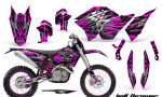 KTM C5 CreatorX Graphics Kit Bolt Thrower Pink NP Rims 150x90 - KTM C5 SX/SX-F 125-525 07-10 / XC 125-525 08-10 / XCW 200-530 2011 / XCFW 250 2011 / EXC 125-530 08-11 Graphics