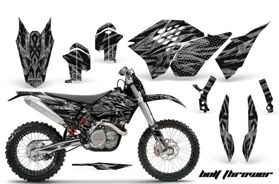 KTM C5 CreatorX Graphics Kit Bolt Thrower Silver NP Rims 570x376 - KTM C5 SX/SX-F 125-525 07-10 / XC 125-525 08-10 / XCW 200-530 2011 / XCFW 250 2011 / EXC 125-530 08-11 Graphics