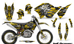KTM C5 CreatorX Graphics Kit Bolt Thrower Yellow NP Rims 150x90 - KTM C5 SX/SX-F 125-525 07-10 / XC 125-525 08-10 / XCW 200-530 2011 / XCFW 250 2011 / EXC 125-530 08-11 Graphics