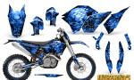 KTM C5 CreatorX Graphics Kit Inferno Blue NP Rims 150x90 - KTM C5 SX/SX-F 125-525 07-10 / XC 125-525 08-10 / XCW 200-530 2011 / XCFW 250 2011 / EXC 125-530 08-11 Graphics