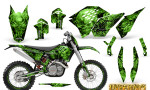 KTM C5 CreatorX Graphics Kit Inferno Green NP Rims 150x90 - KTM C5 SX/SX-F 125-525 07-10 / XC 125-525 08-10 / XCW 200-530 2011 / XCFW 250 2011 / EXC 125-530 08-11 Graphics