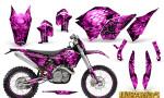KTM C5 CreatorX Graphics Kit Inferno Pink NP Rims 150x90 - KTM C5 SX/SX-F 125-525 07-10 / XC 125-525 08-10 / XCW 200-530 2011 / XCFW 250 2011 / EXC 125-530 08-11 Graphics