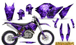 KTM C5 CreatorX Graphics Kit Inferno Purple NP Rims 150x90 - KTM C5 SX/SX-F 125-525 07-10 / XC 125-525 08-10 / XCW 200-530 2011 / XCFW 250 2011 / EXC 125-530 08-11 Graphics
