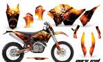 KTM C5 CreatorX Graphics Kit Pure Evil BB NP 150x90 - KTM C5 SX/SX-F 125-525 07-10 / XC 125-525 08-10 / XCW 200-530 2011 / XCFW 250 2011 / EXC 125-530 08-11 Graphics