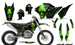 KTM C5 CreatorX Graphics Kit Skull Chief Green 150x90 - KTM C5 SX/SX-F 125-525 07-10 / XC 125-525 08-10 / XCW 200-530 2011 / XCFW 250 2011 / EXC 125-530 08-11 Graphics