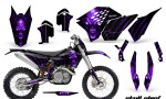 KTM C5 CreatorX Graphics Kit Skull Chief Purple NP Rims 150x90 - KTM C5 SX/SX-F 125-525 07-10 / XC 125-525 08-10 / XCW 200-530 2011 / XCFW 250 2011 / EXC 125-530 08-11 Graphics