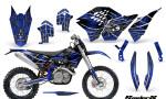 KTM C5 CreatorX Graphics Kit SpiderX Blue NP Rims 150x90 - KTM C5 SX/SX-F 125-525 07-10 / XC 125-525 08-10 / XCW 200-530 2011 / XCFW 250 2011 / EXC 125-530 08-11 Graphics