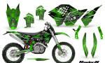KTM C5 CreatorX Graphics Kit SpiderX Green NP Rims 150x90 - KTM C5 SX/SX-F 125-525 07-10 / XC 125-525 08-10 / XCW 200-530 2011 / XCFW 250 2011 / EXC 125-530 08-11 Graphics