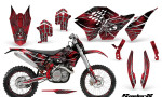 KTM C5 CreatorX Graphics Kit SpiderX Red NP Rims 150x90 - KTM C5 SX/SX-F 125-525 07-10 / XC 125-525 08-10 / XCW 200-530 2011 / XCFW 250 2011 / EXC 125-530 08-11 Graphics