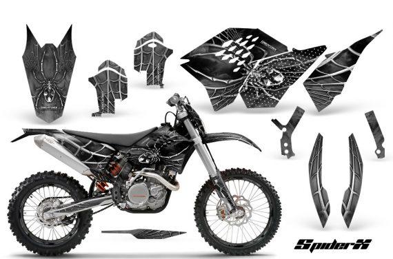 KTM C5 CreatorX Graphics Kit SpiderX Silver NP Rims 570x376 - KTM C5 SX/SX-F 125-525 07-10 / XC 125-525 08-10 / XCW 200-530 2011 / XCFW 250 2011 / EXC 125-530 08-11 Graphics