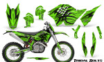 KTM C5 CreatorX Graphics Kit Tribal Bolts Green NP Rims 150x90 - KTM C5 SX/SX-F 125-525 07-10 / XC 125-525 08-10 / XCW 200-530 2011 / XCFW 250 2011 / EXC 125-530 08-11 Graphics