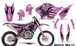 KTM C5 CreatorX Graphics Kit Tribal Bolts PinkLite NP Rims 150x90 - KTM C5 SX/SX-F 125-525 07-10 / XC 125-525 08-10 / XCW 200-530 2011 / XCFW 250 2011 / EXC 125-530 08-11 Graphics