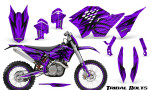 KTM C5 CreatorX Graphics Kit Tribal Bolts Purple NP Rims 150x90 - KTM C5 SX/SX-F 125-525 07-10 / XC 125-525 08-10 / XCW 200-530 2011 / XCFW 250 2011 / EXC 125-530 08-11 Graphics