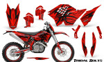 KTM C5 CreatorX Graphics Kit Tribal Bolts Red NP Rims 150x90 - KTM C5 SX/SX-F 125-525 07-10 / XC 125-525 08-10 / XCW 200-530 2011 / XCFW 250 2011 / EXC 125-530 08-11 Graphics