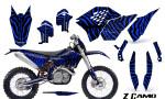 KTM C5 CreatorX Graphics Kit ZCamo Blue NP Rims 150x90 - KTM C5 SX/SX-F 125-525 07-10 / XC 125-525 08-10 / XCW 200-530 2011 / XCFW 250 2011 / EXC 125-530 08-11 Graphics