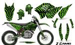 KTM C5 CreatorX Graphics Kit ZCamo Green NP Rims 150x90 - KTM C5 SX/SX-F 125-525 07-10 / XC 125-525 08-10 / XCW 200-530 2011 / XCFW 250 2011 / EXC 125-530 08-11 Graphics