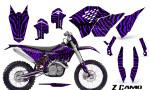 KTM C5 CreatorX Graphics Kit ZCamo Purple NP Rims 150x90 - KTM C5 SX/SX-F 125-525 07-10 / XC 125-525 08-10 / XCW 200-530 2011 / XCFW 250 2011 / EXC 125-530 08-11 Graphics