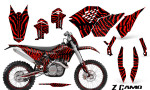 KTM C5 CreatorX Graphics Kit ZCamo Red NP Rims 150x90 - KTM C5 SX/SX-F 125-525 07-10 / XC 125-525 08-10 / XCW 200-530 2011 / XCFW 250 2011 / EXC 125-530 08-11 Graphics