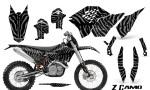KTM C5 CreatorX Graphics Kit ZCamo Silver NP Rims 150x90 - KTM C5 SX/SX-F 125-525 07-10 / XC 125-525 08-10 / XCW 200-530 2011 / XCFW 250 2011 / EXC 125-530 08-11 Graphics