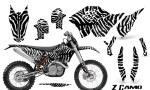 KTM C5 CreatorX Graphics Kit ZCamo White NP Rims 150x90 - KTM C5 SX/SX-F 125-525 07-10 / XC 125-525 08-10 / XCW 200-530 2011 / XCFW 250 2011 / EXC 125-530 08-11 Graphics