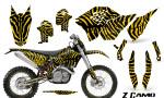 KTM C5 CreatorX Graphics Kit ZCamo Yellow NP Rims 150x90 - KTM C5 SX/SX-F 125-525 07-10 / XC 125-525 08-10 / XCW 200-530 2011 / XCFW 250 2011 / EXC 125-530 08-11 Graphics